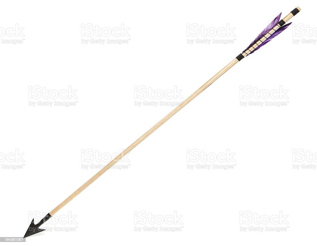traditional arrow stock photo