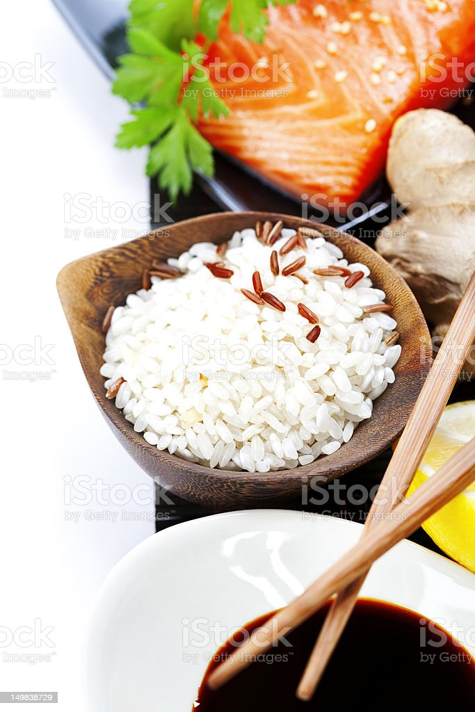 traditional asian ingredients royalty-free stock photo