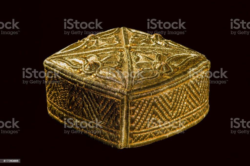traditional asian skullcap stock photo