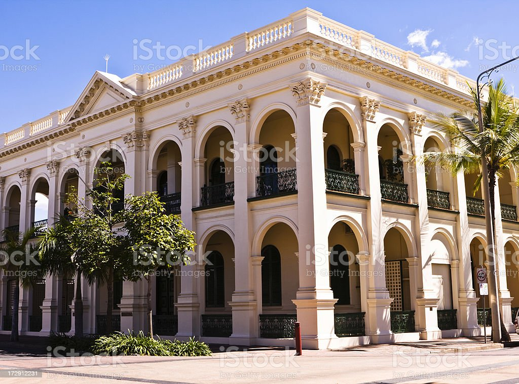 Traditional Australian Commercial Building royalty-free stock photo