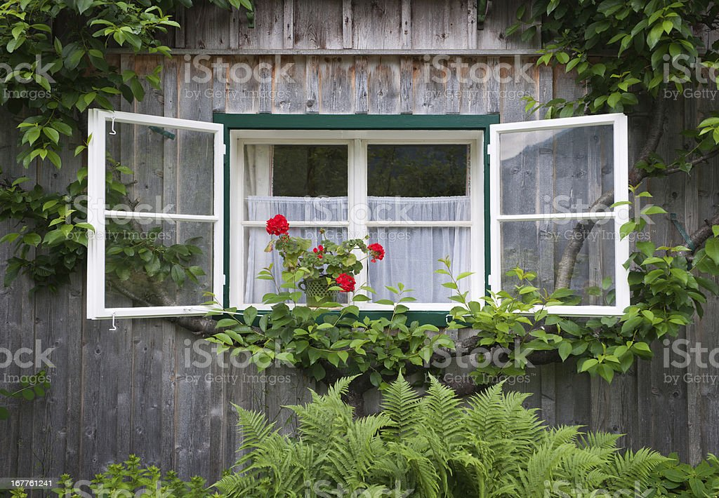 Traditional Austrian Timbered Country House (XXXL) royalty-free stock photo