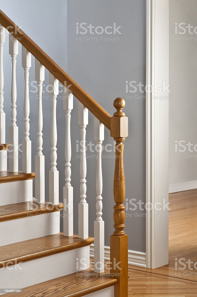 Traditional Banister royalty-free stock photo