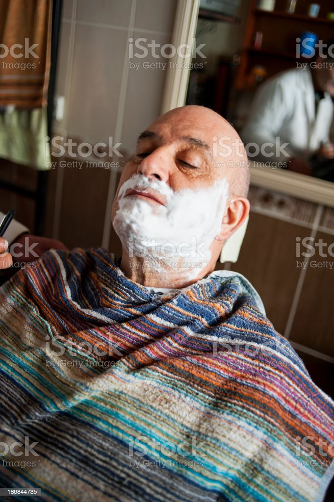 Traditional Barber Shop royalty-free stock photo
