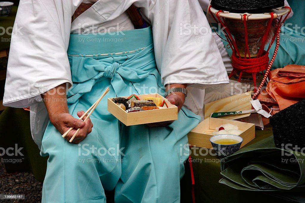 Traditional Bento royalty-free stock photo