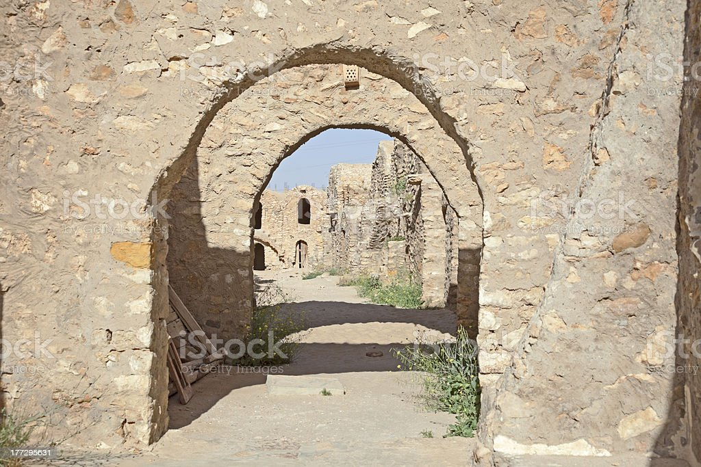 Traditional Berber architecture. royalty-free stock photo