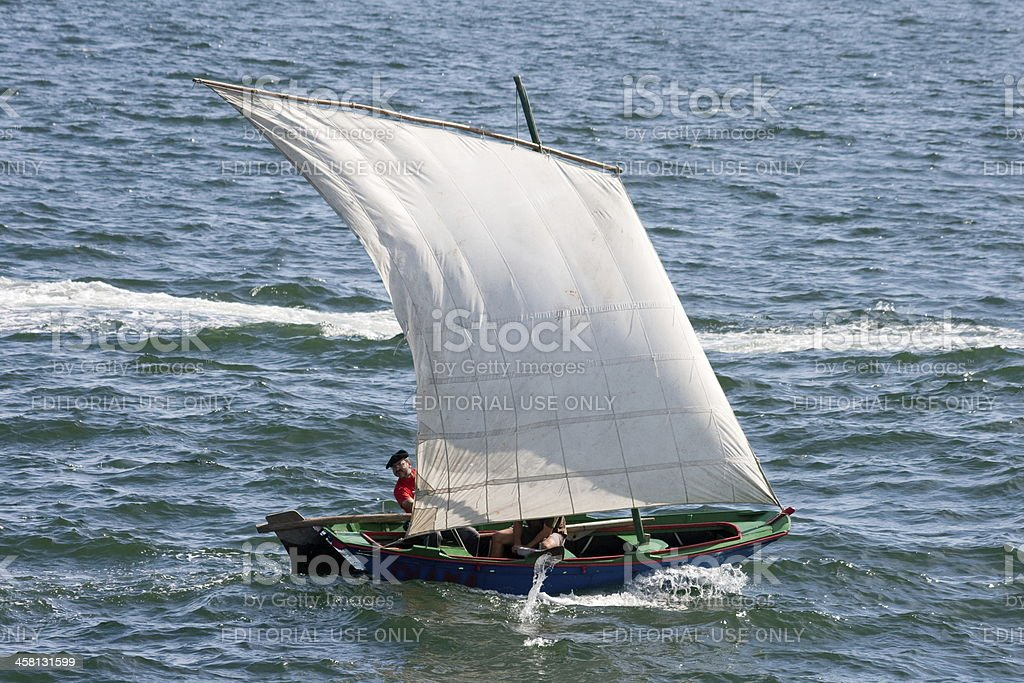 Traditional Boat 'DIANA' royalty-free stock photo
