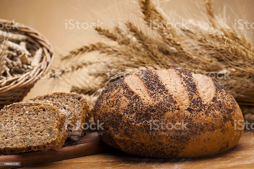 Traditional bread royalty-free stock photo