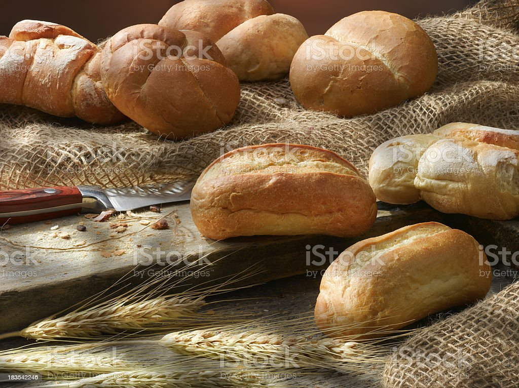 Traditional bread. royalty-free stock photo