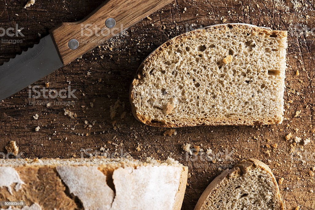 Traditional bread stock photo