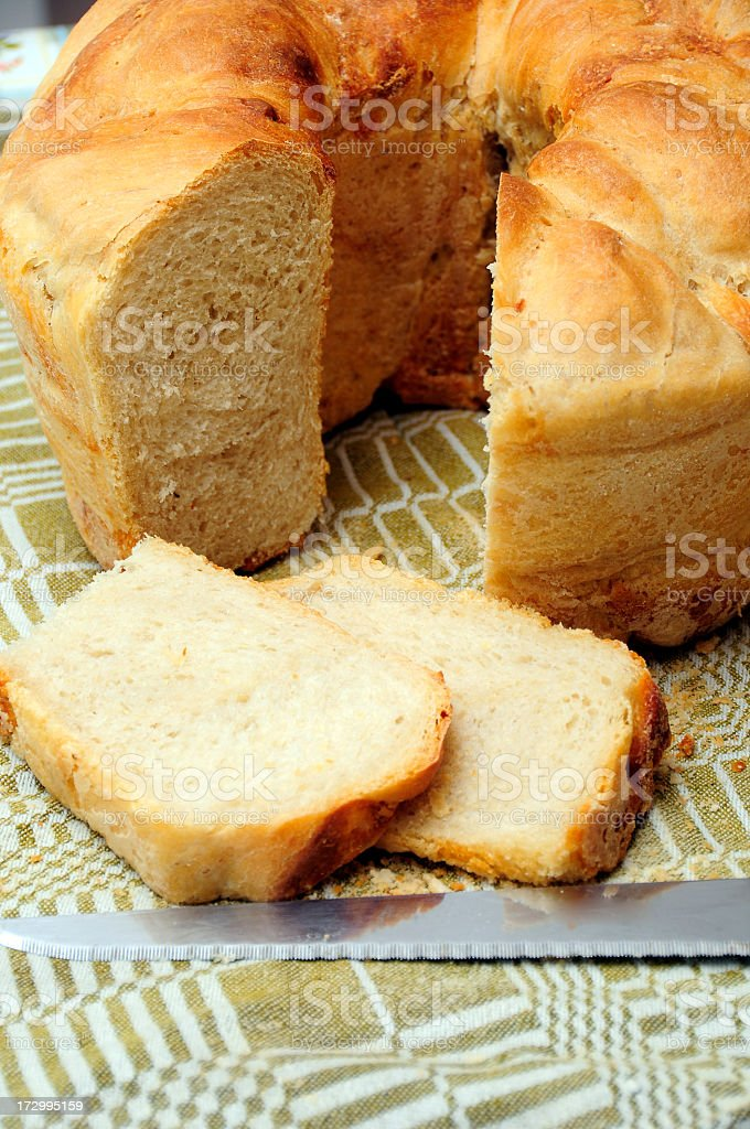 Traditional bread series stock photo