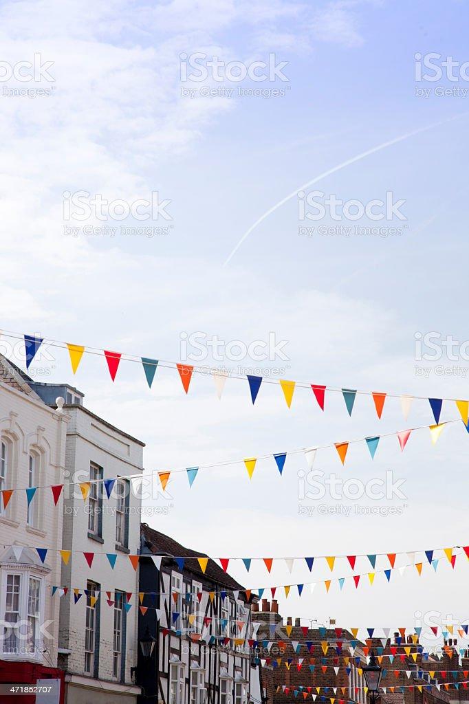 Traditional British high street royalty-free stock photo