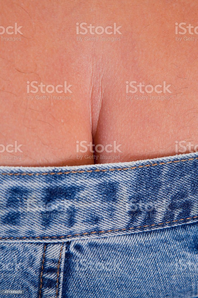 Traditional British Workman Close Up stock photo