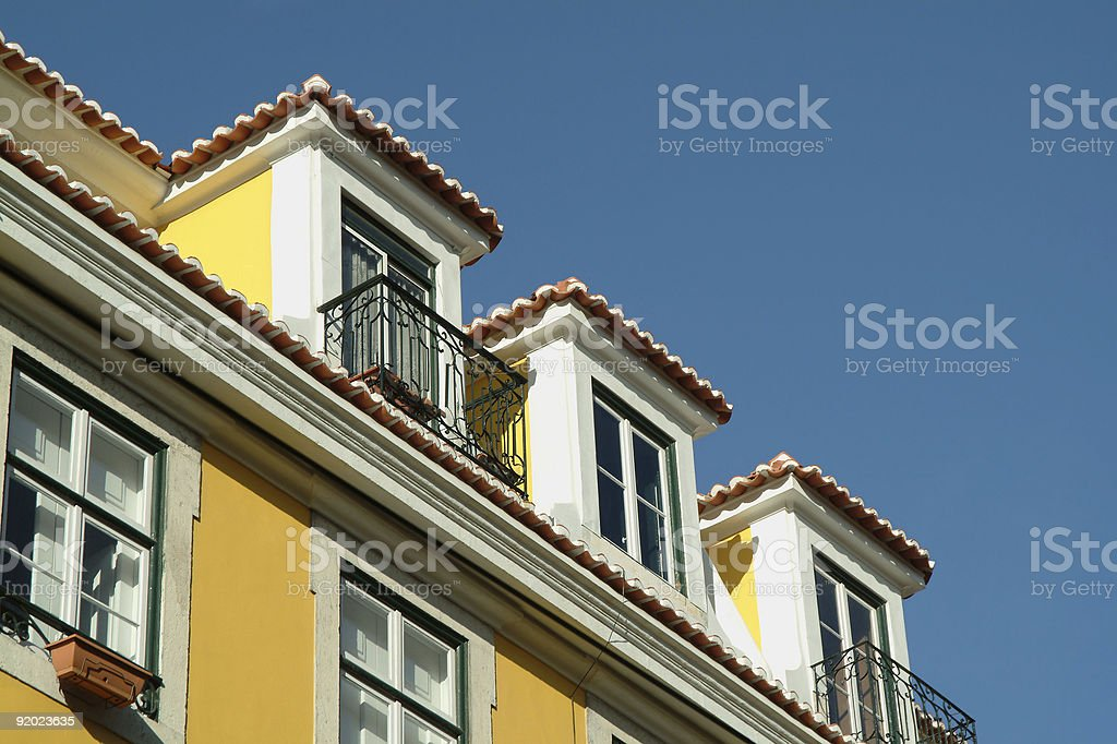 Traditional building royalty-free stock photo