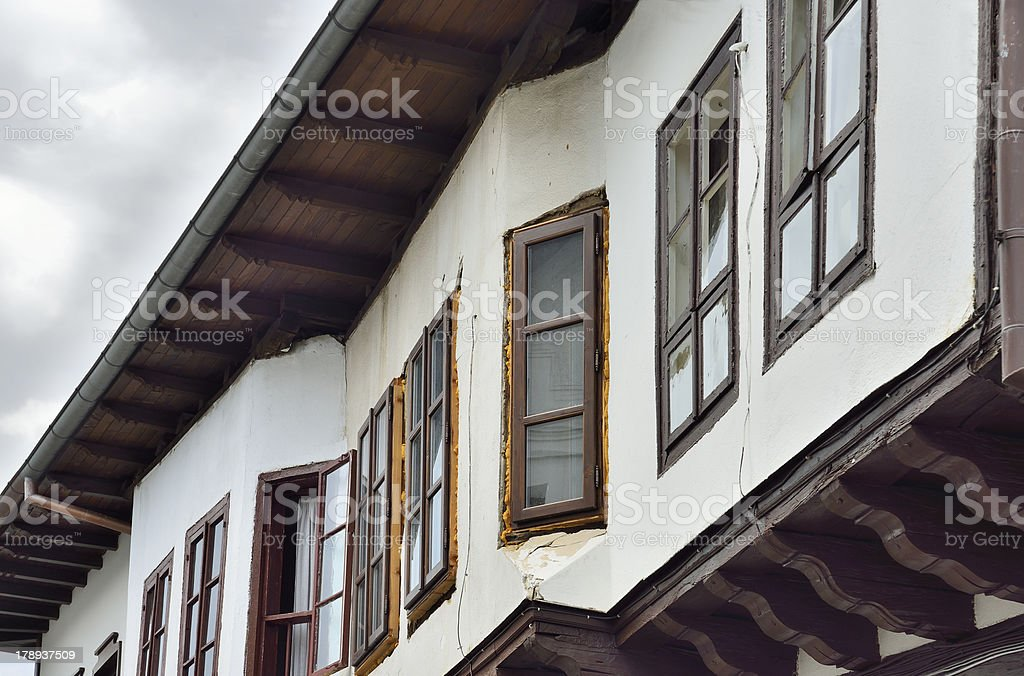 Traditional Bulgarian Houses royalty-free stock photo