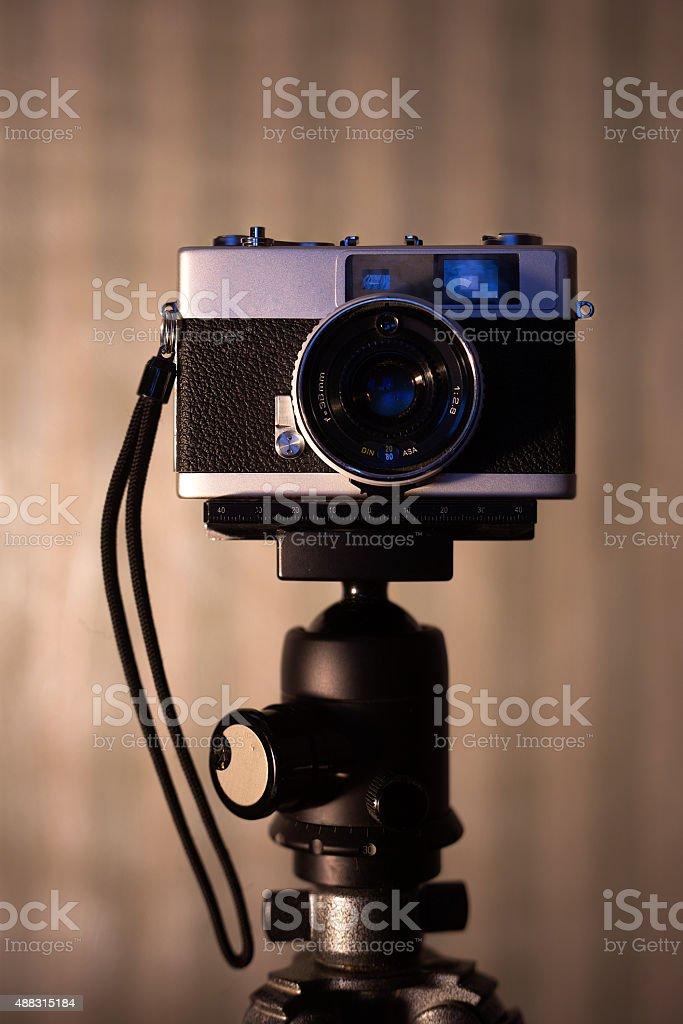 traditional camera stock photo