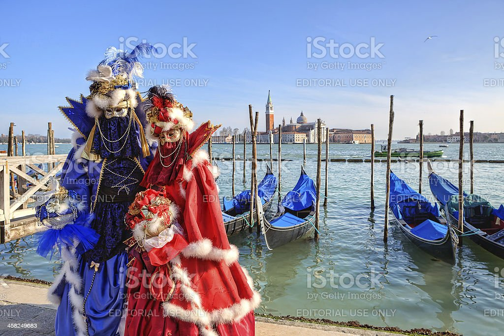 Traditional carnival in Venice, Italy. royalty-free stock photo