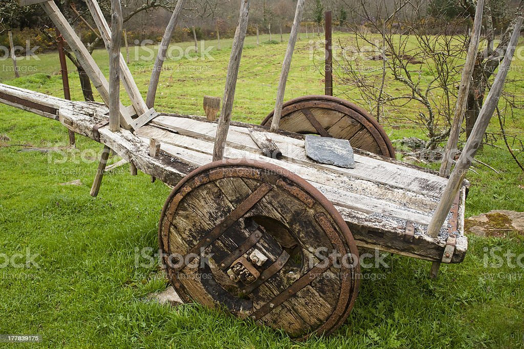 Traditional cart stock photo