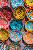 Traditional ceramic Moroccan