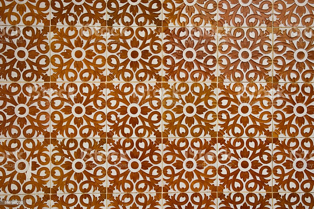 Traditional Ceramic pattern stock photo