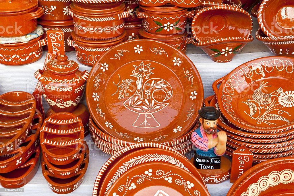 Traditional Ceramics stock photo