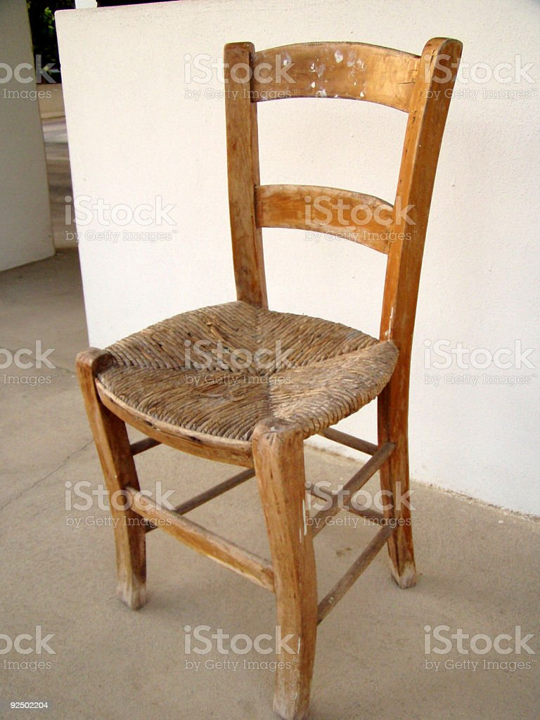 Traditional chair royalty-free stock photo