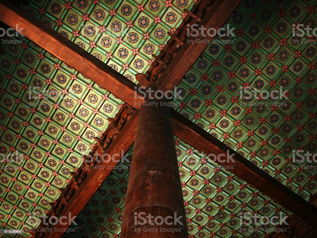 Traditional Chinese Architecture royalty-free stock photo