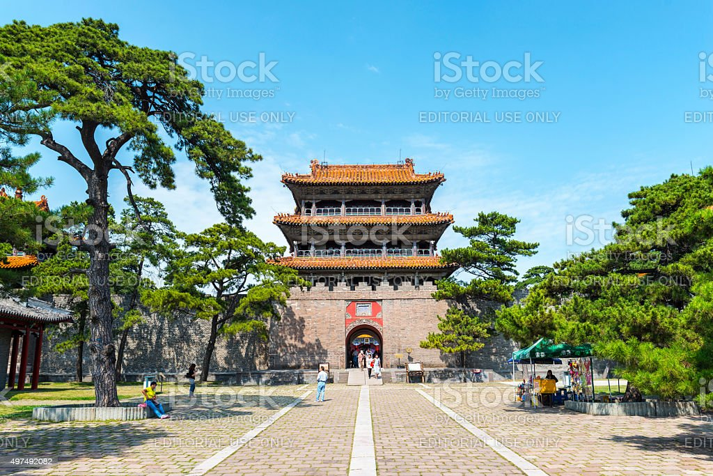 Traditional Chinese building stock photo