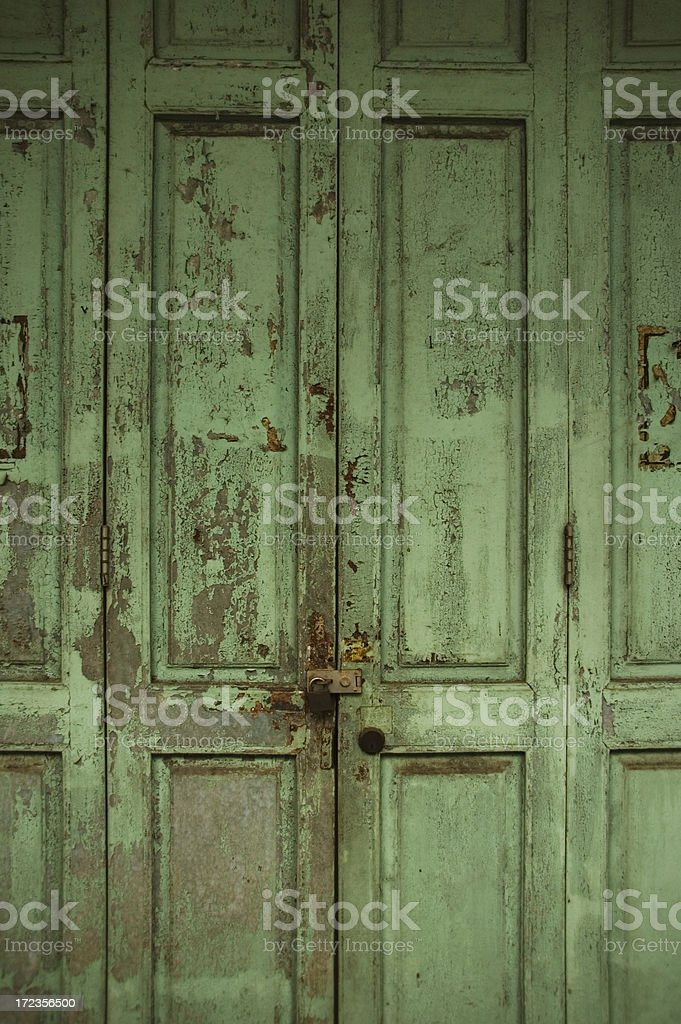 Traditional Chinese Door royalty-free stock photo