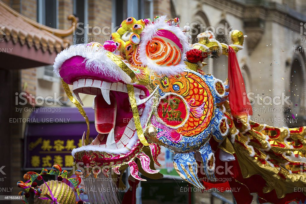 Traditional Chinese Dragon stock photo