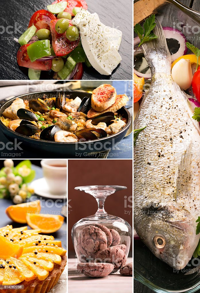Traditional chinese food stock photo