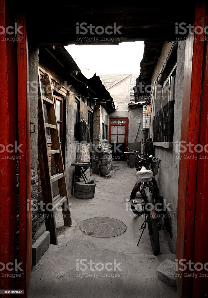 Traditional Chinese House royalty-free stock photo