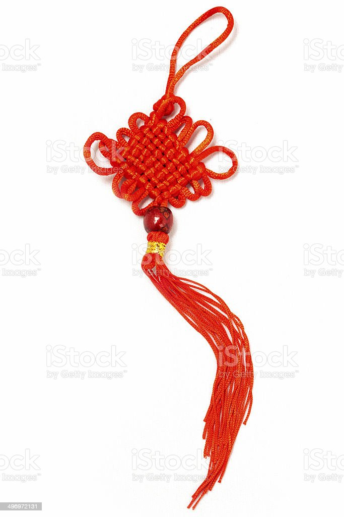 Traditional Chinese Knot stock photo