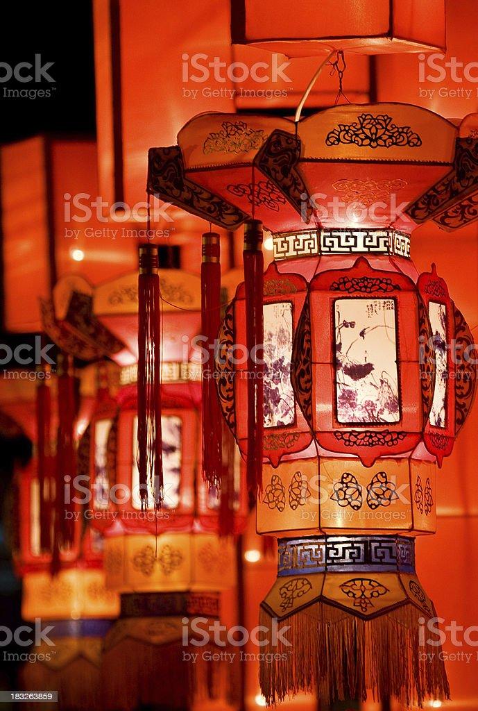 Traditional Chinese lantern royalty-free stock photo