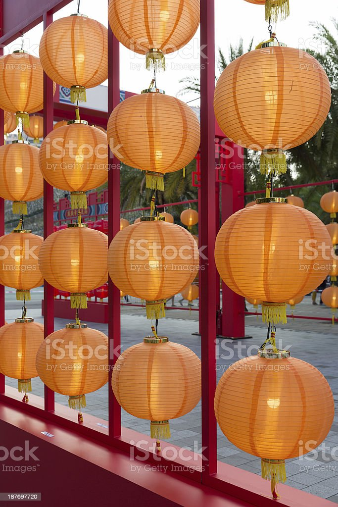 Traditional Chinese Lantern stock photo