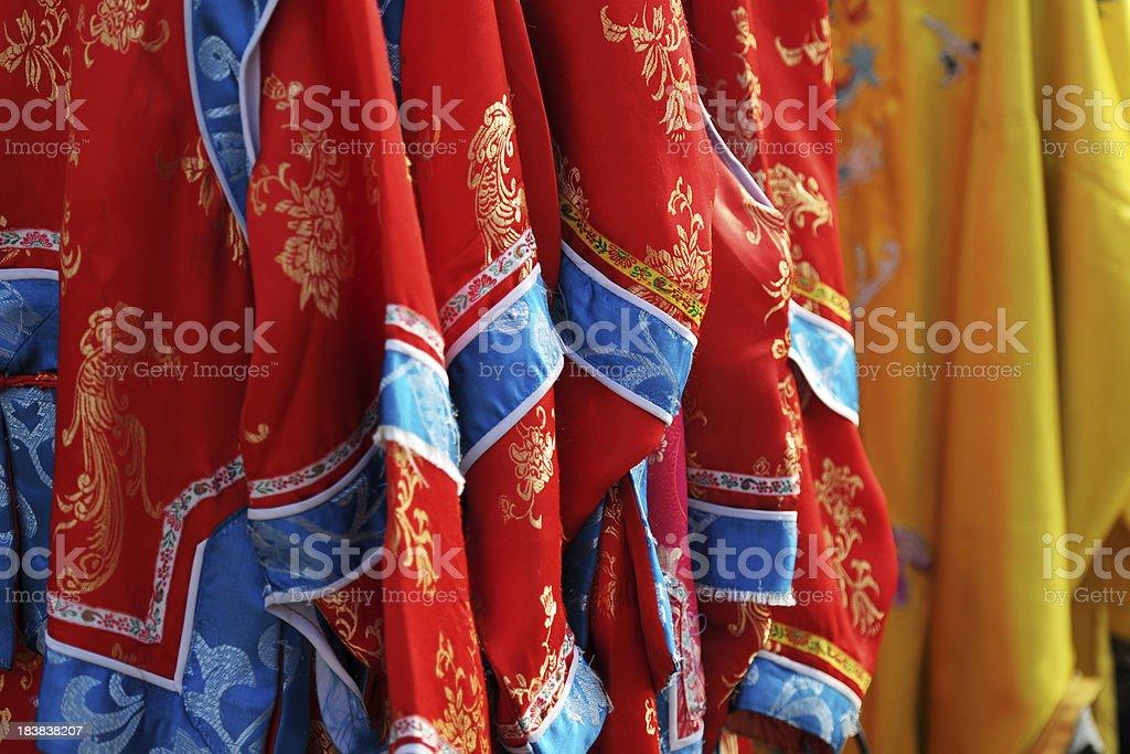 Traditional Chinese Royal Clothing - XLarge stock photo