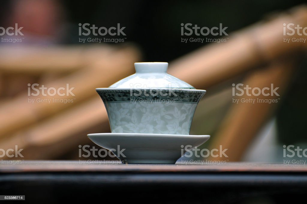 Traditional Chinese Tea stock photo
