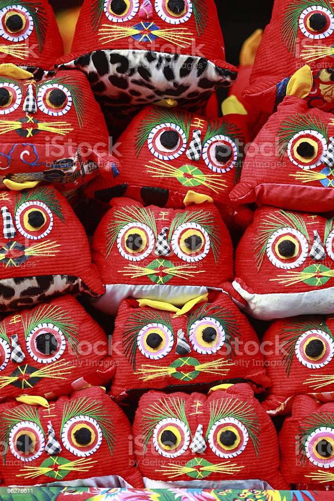 traditional chinese toy tiger stock photo