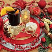 Traditional Christmas Noel Scene