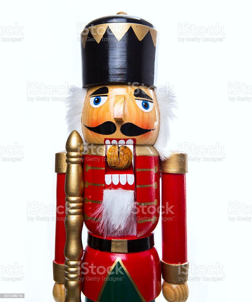 Traditional Christmas Nutcracker stock photo