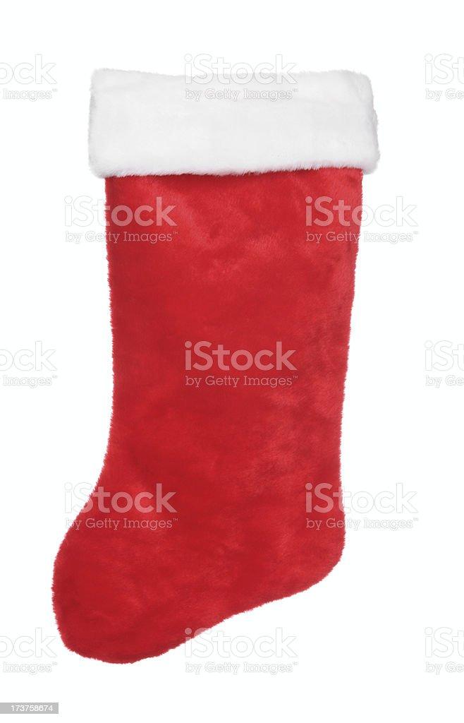 Traditional Christmas Stocking (XL) royalty-free stock photo
