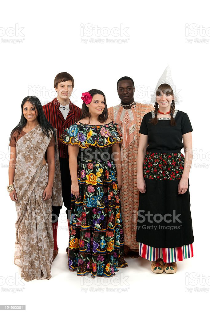 Traditional clothing royalty-free stock photo
