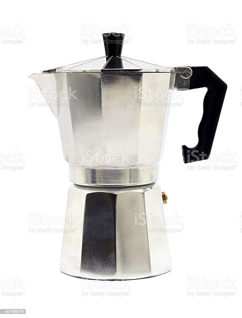 Traditional coffee maker stock photo