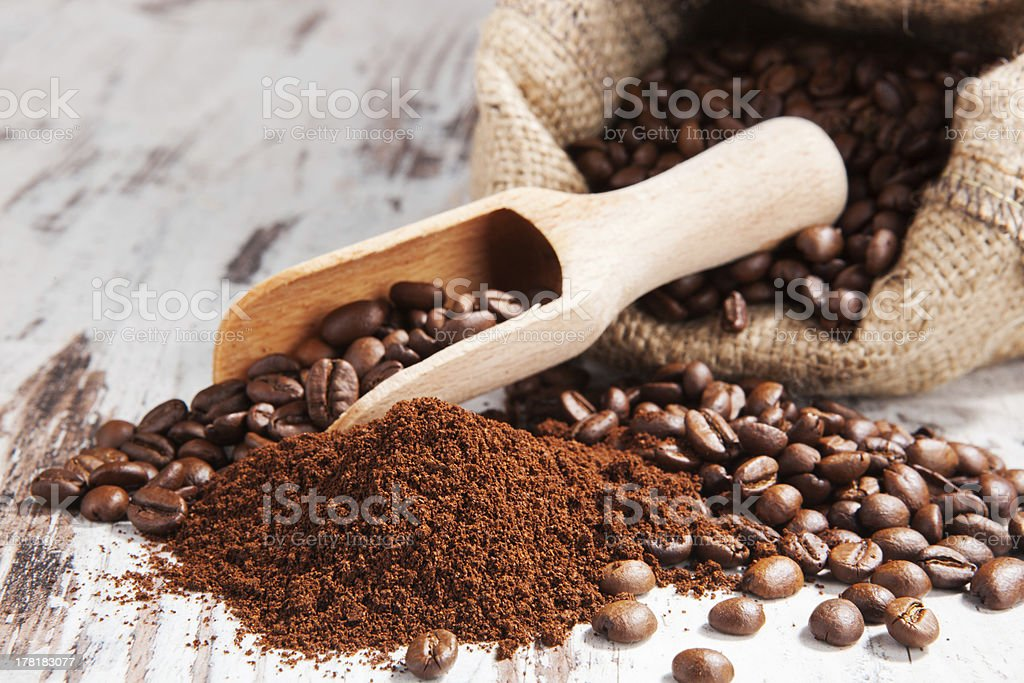 Traditional coffee still life. royalty-free stock photo