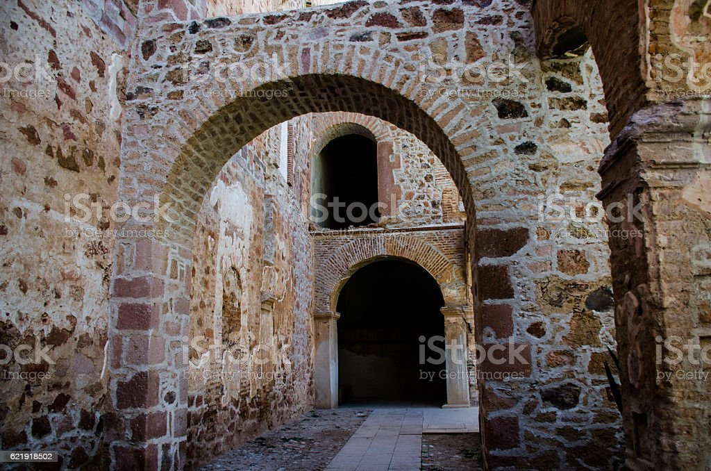 Traditional Colonial Architecture in Mexico stock photo