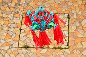 Traditional colorful pinata