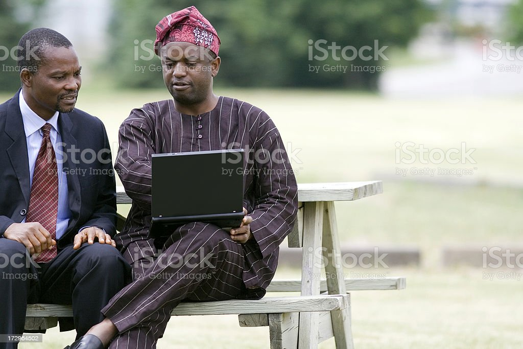 Traditional Computing, to your right. royalty-free stock photo