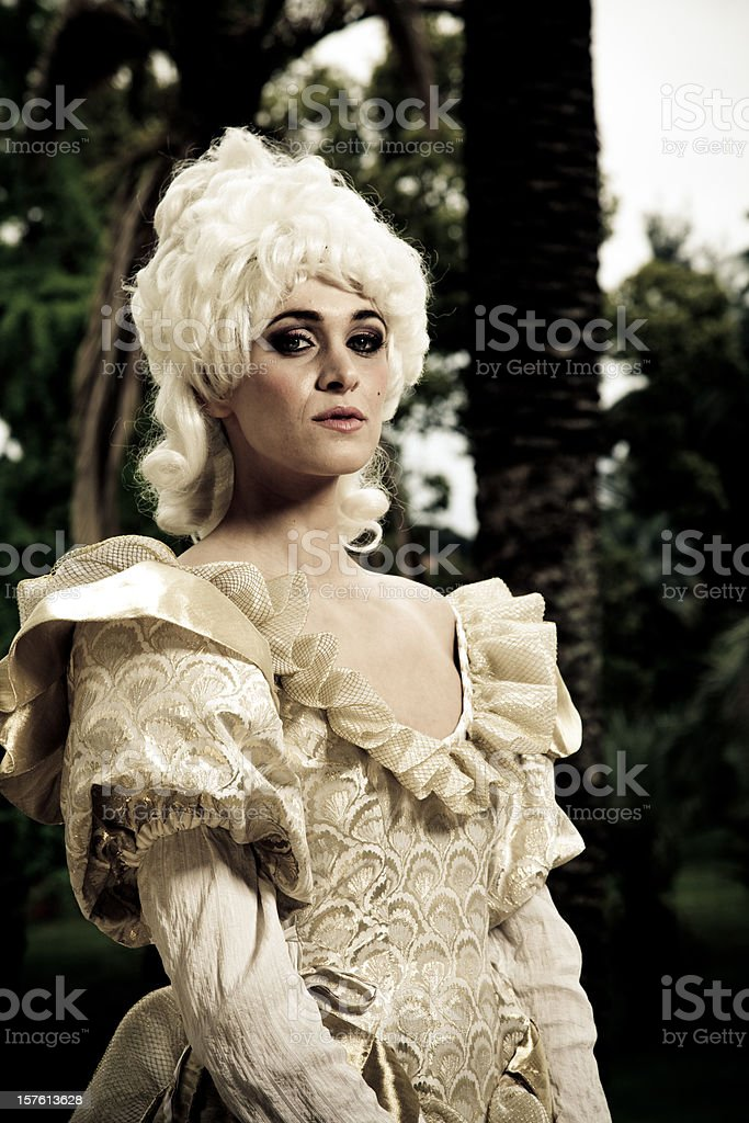 traditional costume royalty-free stock photo