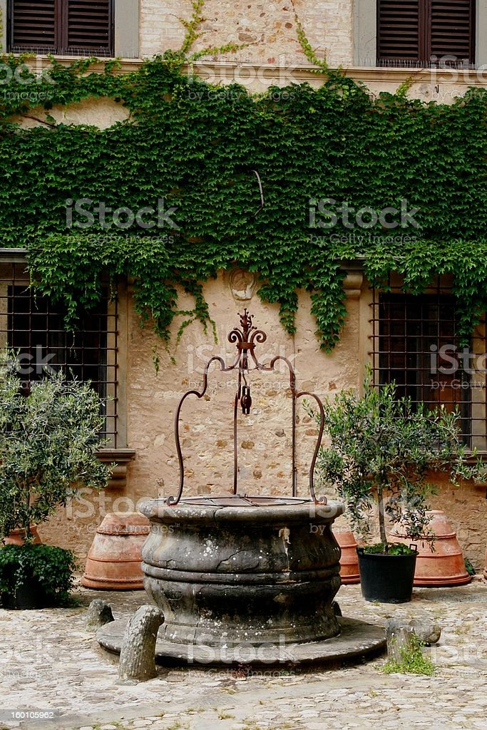 Traditional Court Interior royalty-free stock photo