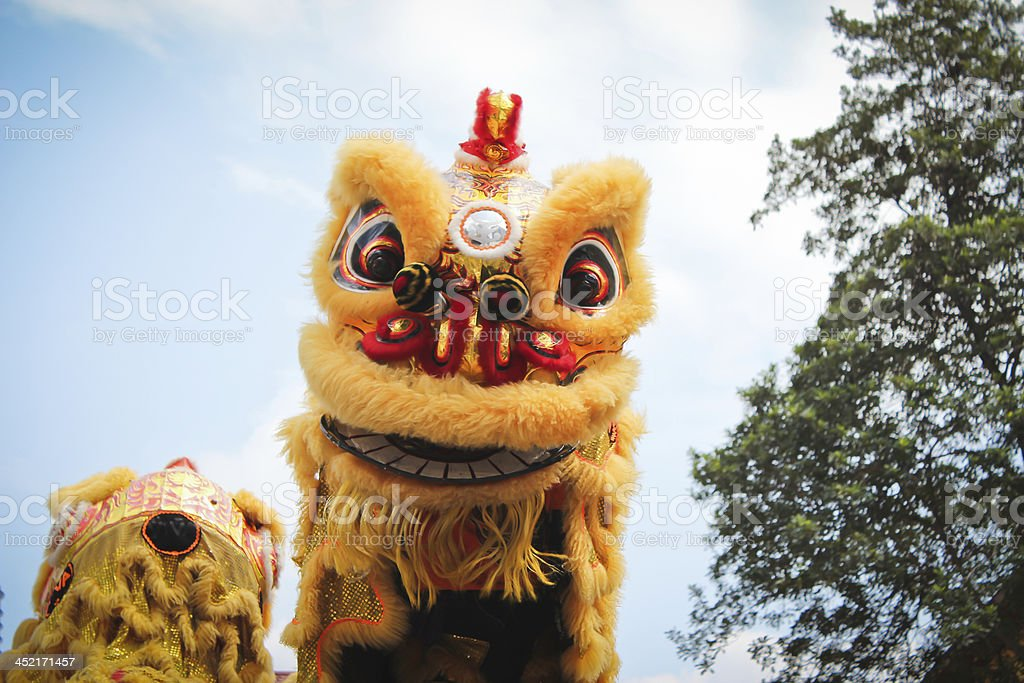 Traditional Culture Dragon Dance stock photo
