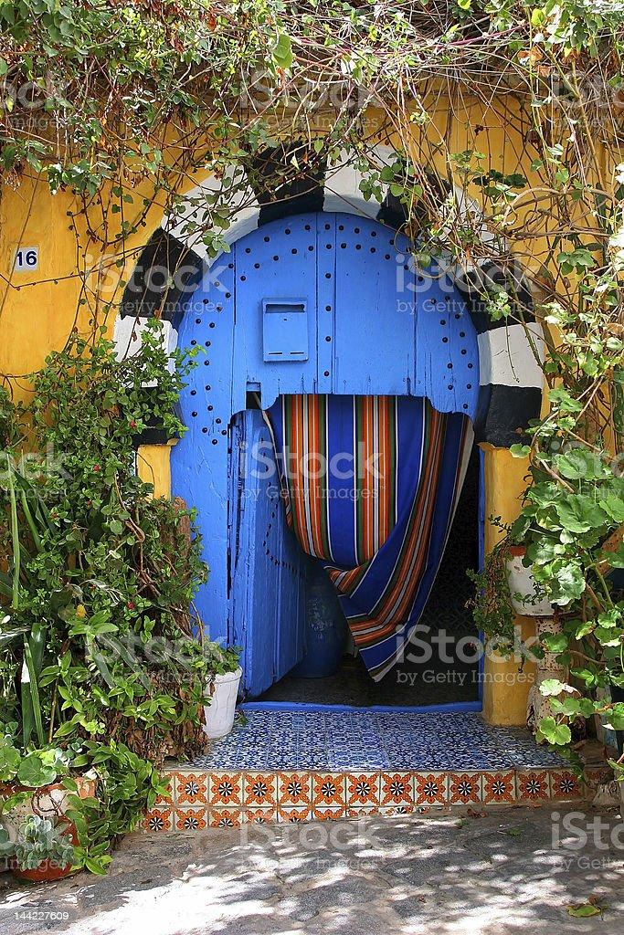 Traditional Door stock photo